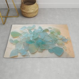 Ocean Hue Sea Glass Rug