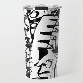 Personal Angel - b&w Travel Mug