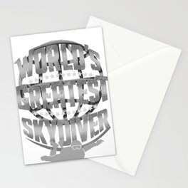 Skydiving World's Greatest Skydiver Stationery Cards