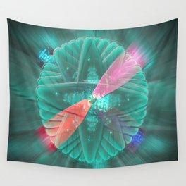 Spinning Lights Wall Tapestry