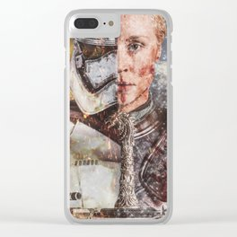 Two Faced Storm Clear iPhone Case