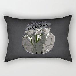 Rat Pack Rectangular Pillow