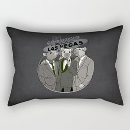 Rat Pack Rectangular Pillow