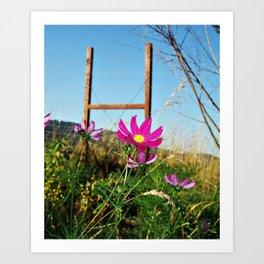 FlowerWork Art Print