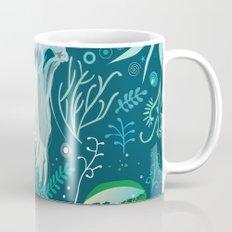 Aqua pattern Mug
