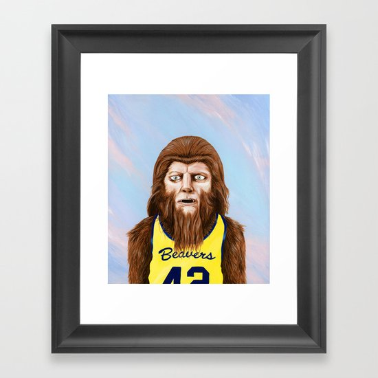 Teenwolf Framed Art Print
