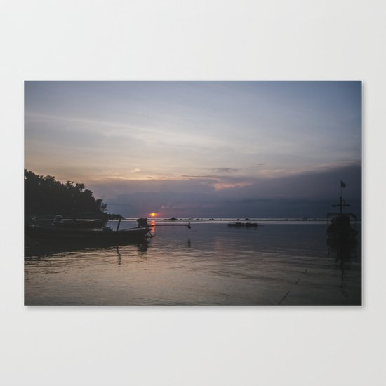Sunset, Koh Phangan Canvas Print