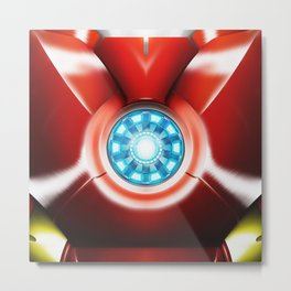 Ironman Body Armor Metal Print