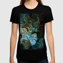 Goddess of Nature Abstract T-shirt