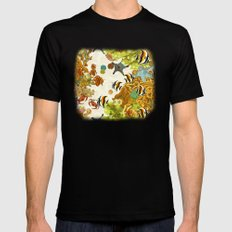 The Great Barrier Reef MEDIUM Mens Fitted Tee Black