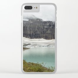 Grinnell Glacier - Expiration Date 2030 Clear iPhone Case
