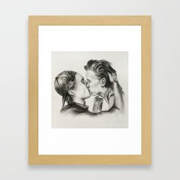 Don't you let me go Framed Art Print
