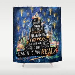 Of course Shower Curtain
