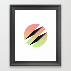 3z Framed Art Print