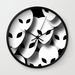 Aliens Phantoms Wall Clock