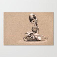 My Pet Moth Canvas Print
