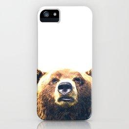 Bear portrait iPhone Case