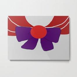 Sailor Mars Bow Metal Print