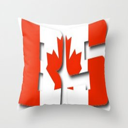 BS Canada Throw Pillow