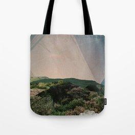 Sky Camping Tote Bag
