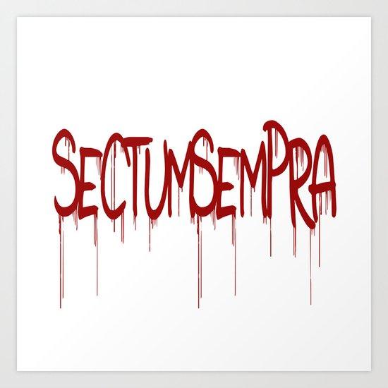 Sectumsempra Art Print