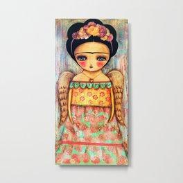 Frida - Tengo Alas Para Volar Metal Print