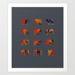 olifante Art Print