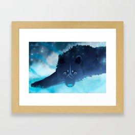 Ice Guardian Framed Art Print