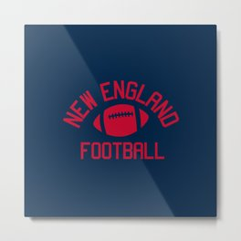 New England Football Metal Print