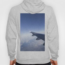 Heavenly Blue Skies Flying Hoody