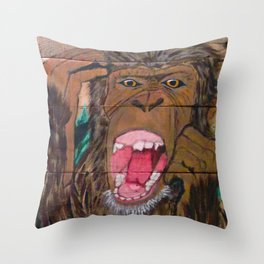 Scream if You Dare Throw Pillow