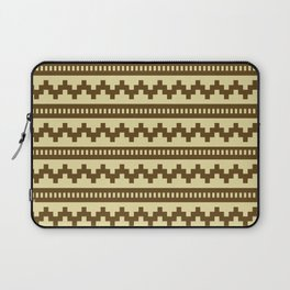 Pixel Sand Side Scroller Laptop Sleeve