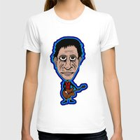 lou reed T-shirts featuring Lou Reed Rock God by Adam Metzner
