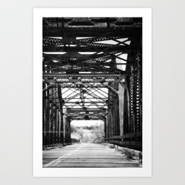 Brownwood Bridge Art Print