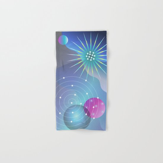 Planetary Party Hand & Bath Towel