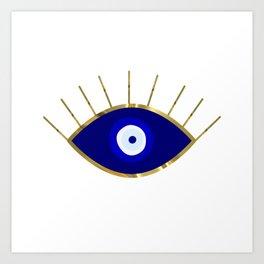 I See You Evil Eye Art Print