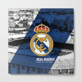 Real Madrid Football Club Metal Print