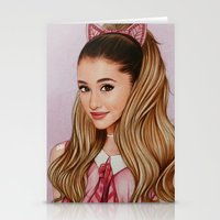60s Stationery Cards featuring The 60s Ariana by The Art Of Dreams