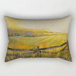 Country Meadow Rectangular Pillow