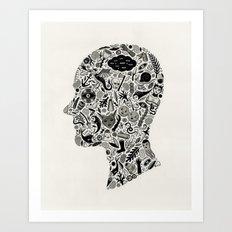 It's All In My Head Art Print