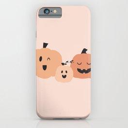 3 Pumpkins 1 iPhone Case