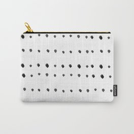 Modern boho dot Carry-All Pouch