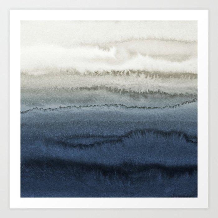 WITHIN THE TIDES - CRUSHING WAVES BLUE Kunstdrucke