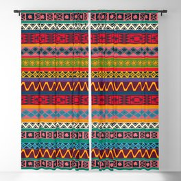 African pattern No4 Blackout Curtain