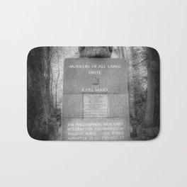 Karl Marx Memorial Bath Mat