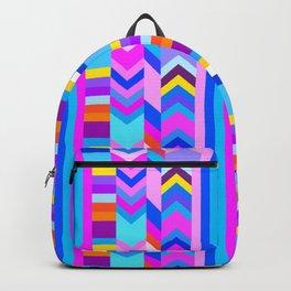 Striped Kilim in Cool Multi Backpack