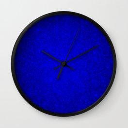 Opal Blue Sparkling Jewels Pattern Wall Clock