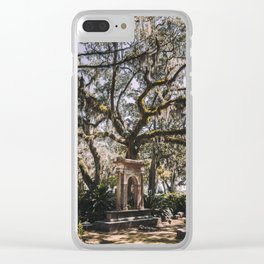Bonaventure Cemetery - Savannah, Georgia III Clear iPhone Case