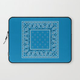Sky Blue Bandana Laptop Sleeve