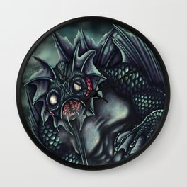 The Shadow Over Innsmouth Wall Clock